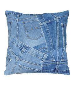 Cuscini Di Jeans.Come Riciclare In Modo Creativo I Vecchi Jeans Artigianato Denim