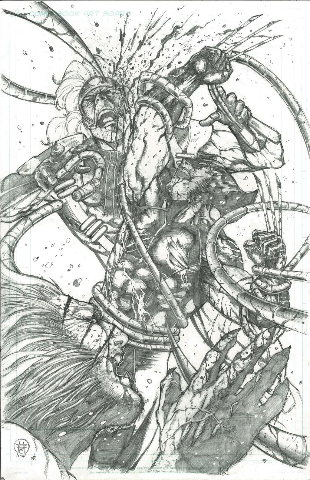 Savages By Ace Continuado On Deviantart Savage Wolverine Ace