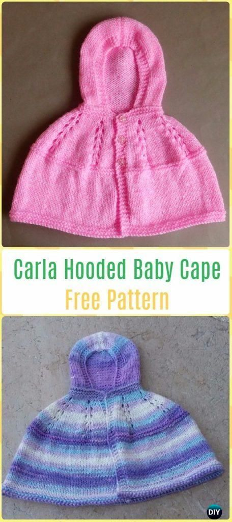 Knit Baby Sweater Outwear Free Patterns & Tutorials | Knit baby ...