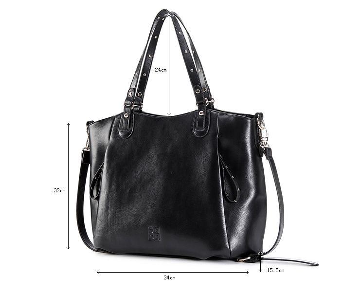 Echo leather shopper bag. Borsa grande in pelle shopping con manici e tracolla di DUDU - Dudubags shop online €202 (SALE! Fino al 17/2/2013 è scontata a €101)