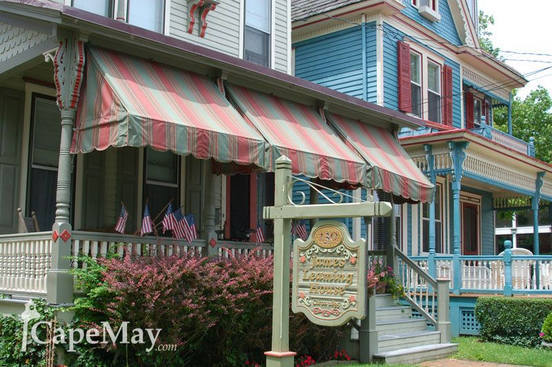 James Leaming House Seaside Resort Resort Historic Buildings