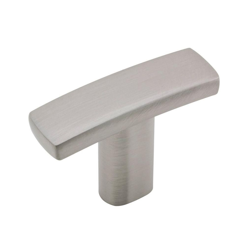 Richelieu Hardware 1-1/2 in. x 1 in. Satin Nickel Subtle Arch Knob