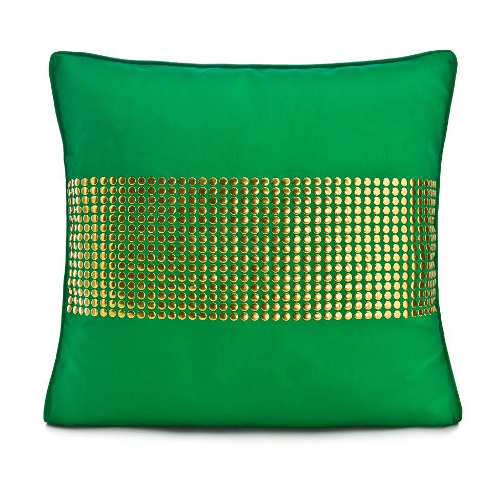 Dna home accents green studded pillow pillows by dna home accents