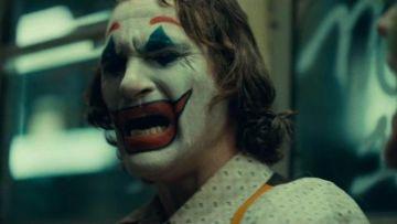 The mask of Arthur Fleck / Joker (Joaquin Phoenix) in Jok ...