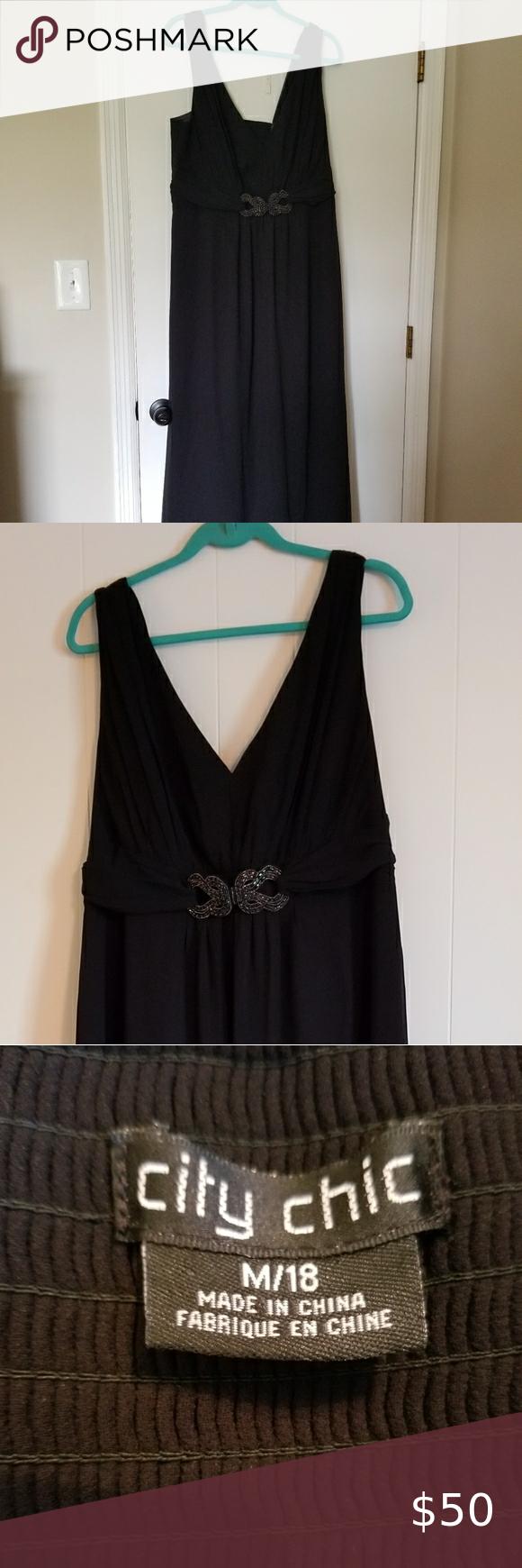City Chic Long Black Formal Dress Long Black Dress Formal City Chic Dresses Black Dress Formal [ 1740 x 580 Pixel ]
