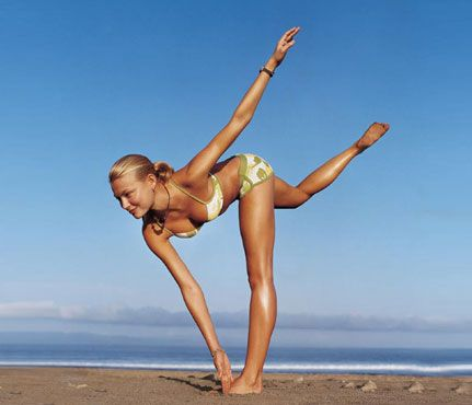 You don't need to own a board or live by the beach to have a surfer-girl body.