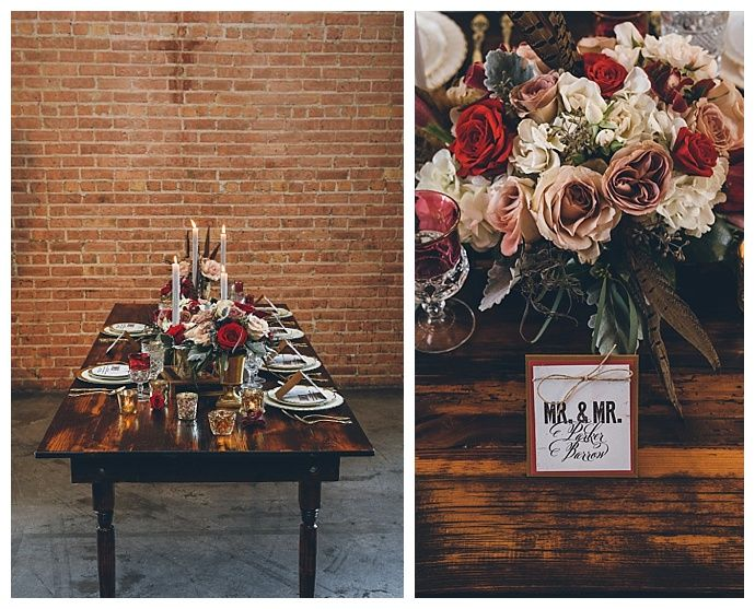 These floral arrangements are absolutely gorgeous! Obsessed with this tablescape.