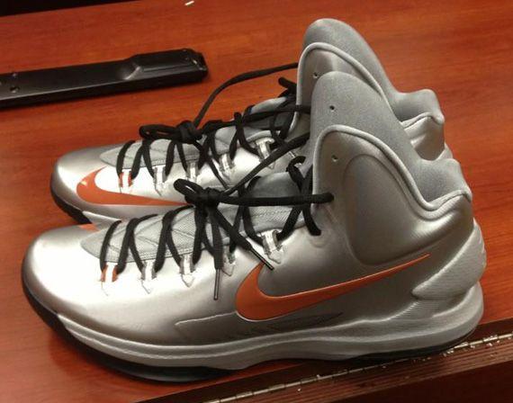 kevin durant shoes 2013 Nike KD V Texas Longhorns