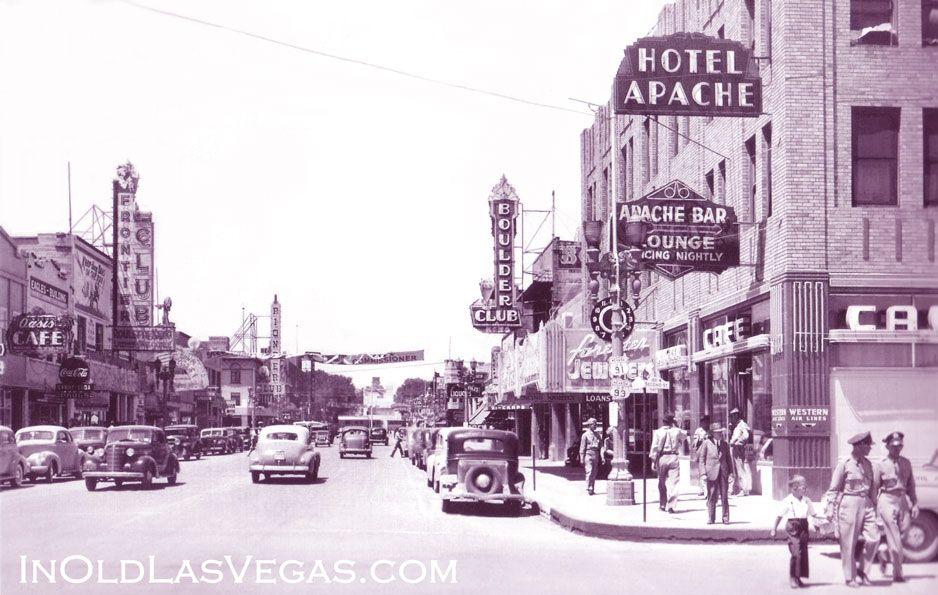 Vintagelasvegas: Downtown Las Vegas, Fremont St At C.