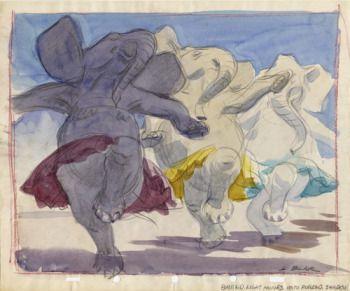 dancing elephantselephansts - Google Search