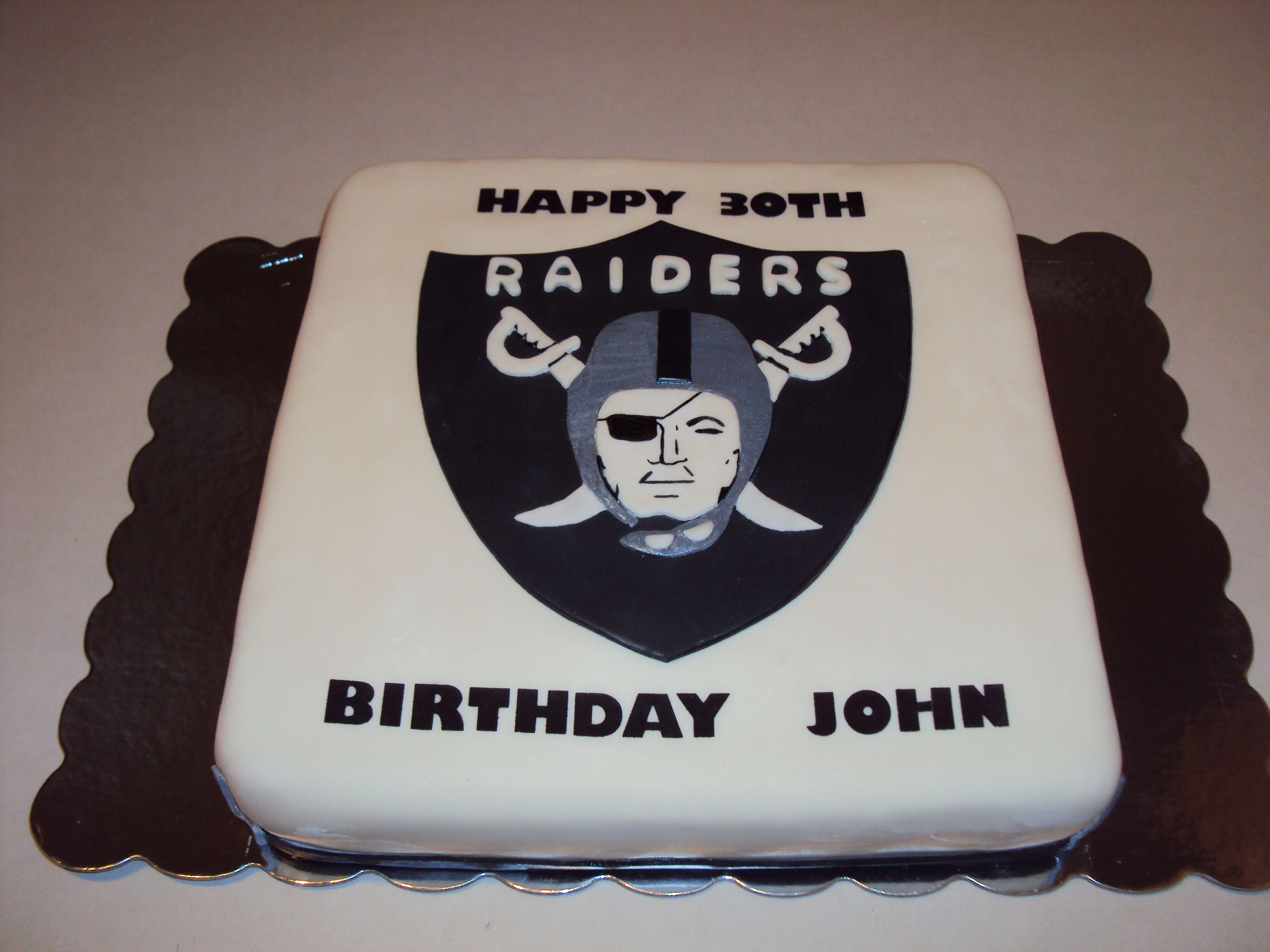 Raider S Cake