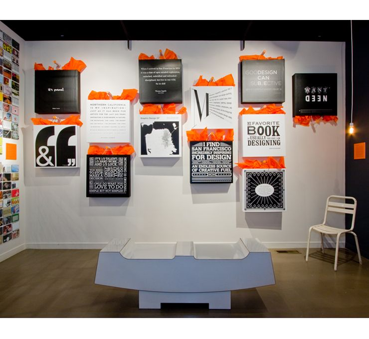San Francisco Museum Of Craft Design Graphic Design Exhibit By