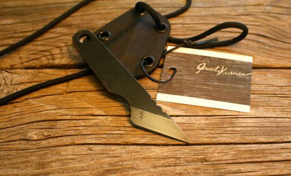 Custom 1084 Steel Small Kiridashi Left Hand By Jaredkramerstudios Kydex Things To Sell Steel