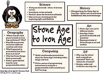 STONE AGE TO IRON AGE TOPIC PLAN