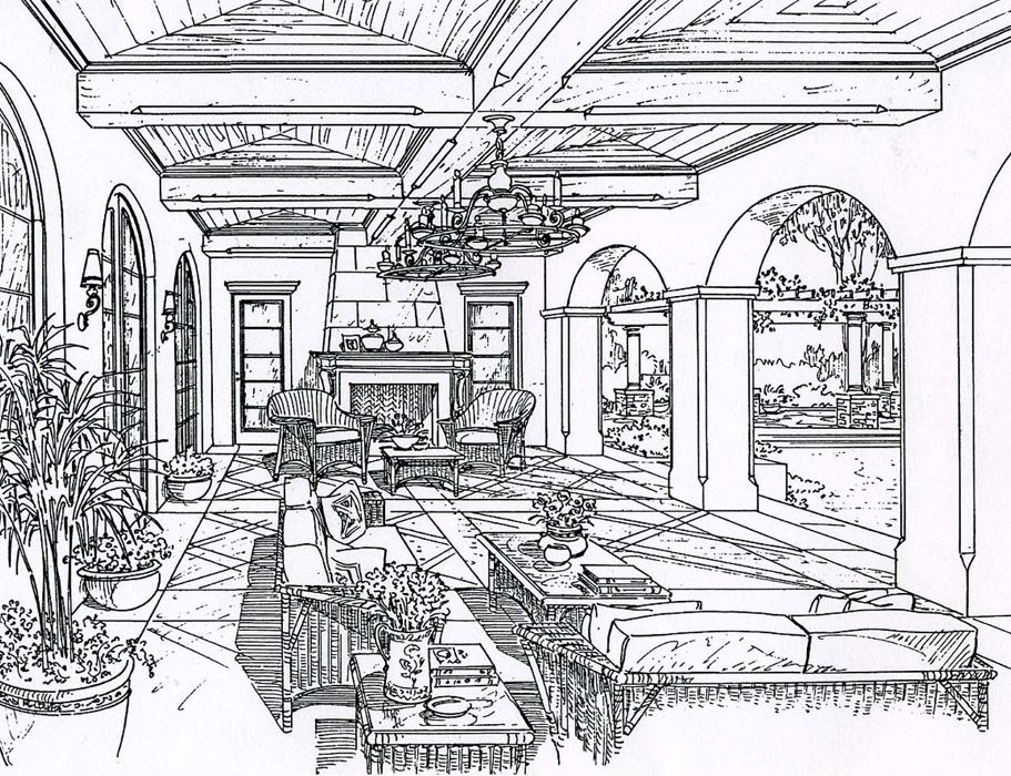 School House Coloring Pages Victorian Windows Sketches
