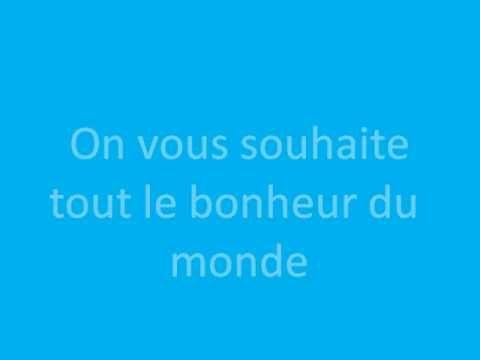 Parodie Chanson Mariage Tout Le Bonheur Du Monde