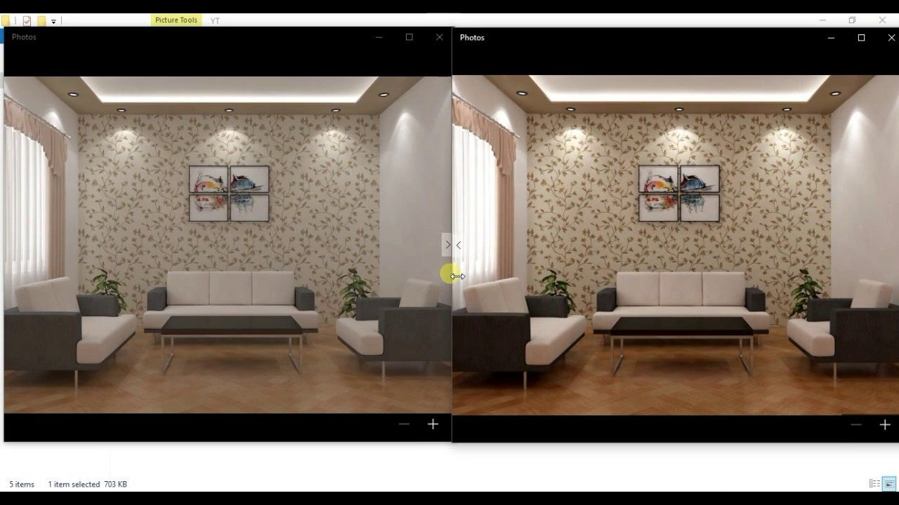 How To Make Vray Render More Perfect Sharper And Clearer In Photoshop Architecture Visualisation 3d Tutorial