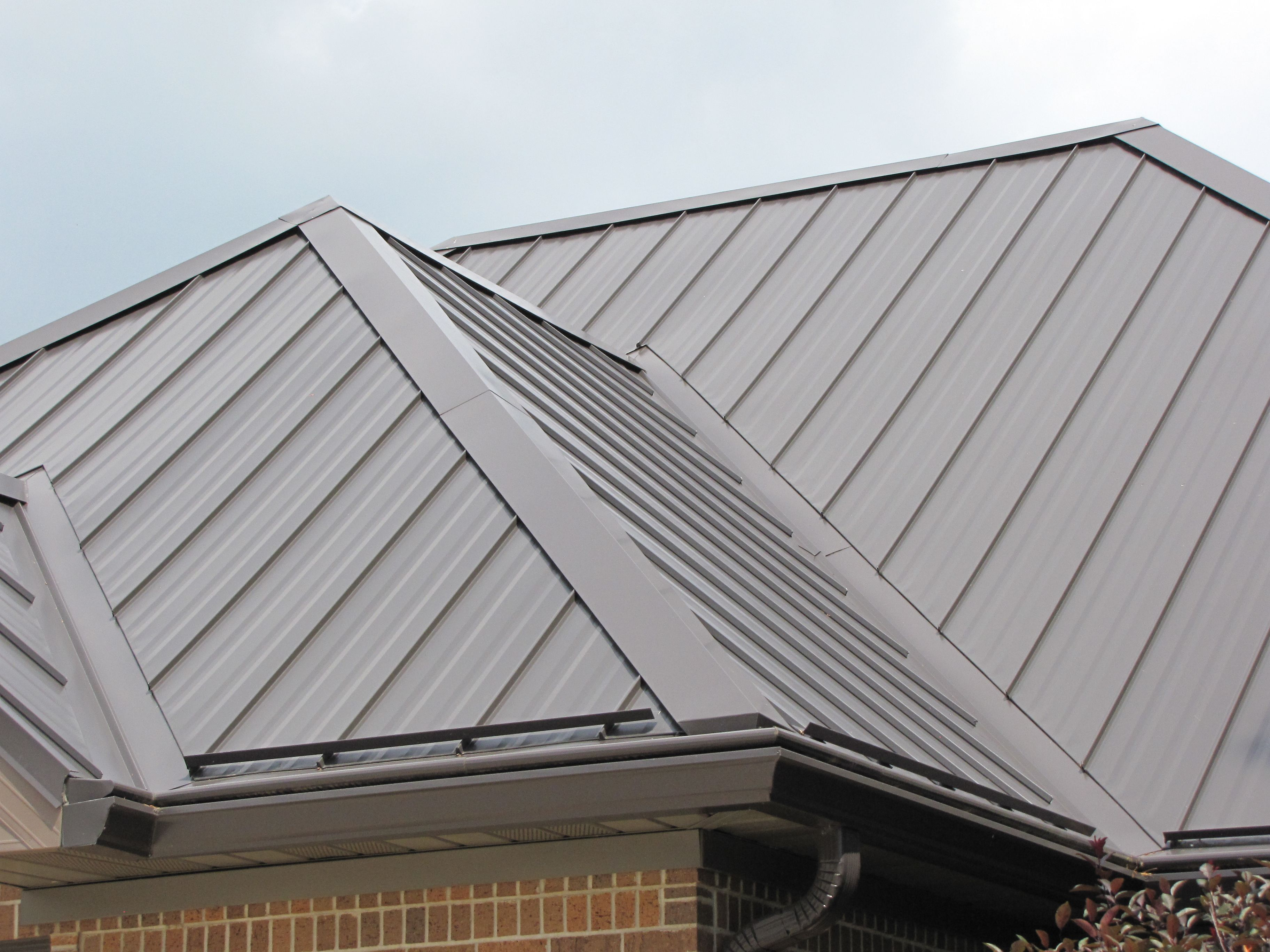 Standing Seam Hip Roof Google Search Roofing Roof Architecture Metal Roofing Prices