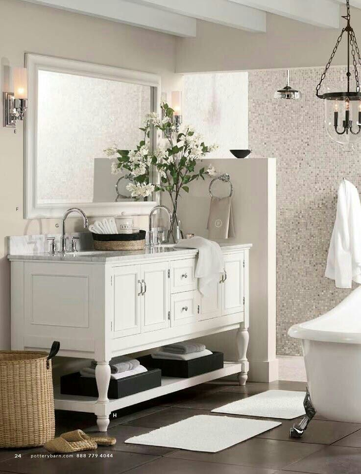 Bath Pottery Barn Pottery Barn Bathroom Double Sink