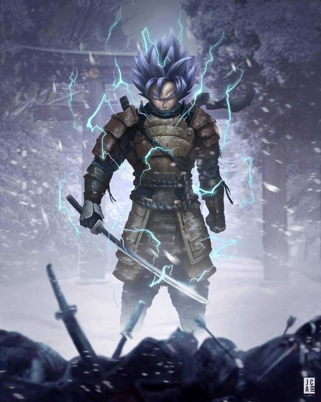 Jackson Caspersz Art On Instagram Samurai Goku I Love