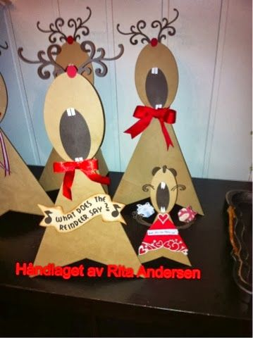 Andersens scrapperier: WHAT DOES THE REINDEER SAY ?