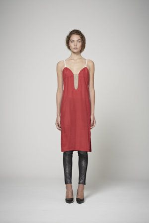 Duo Dress - Red