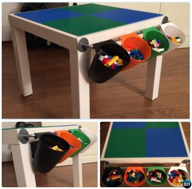 DIY Lego Table Projects [Picture Instructions] | Diy lego table ...