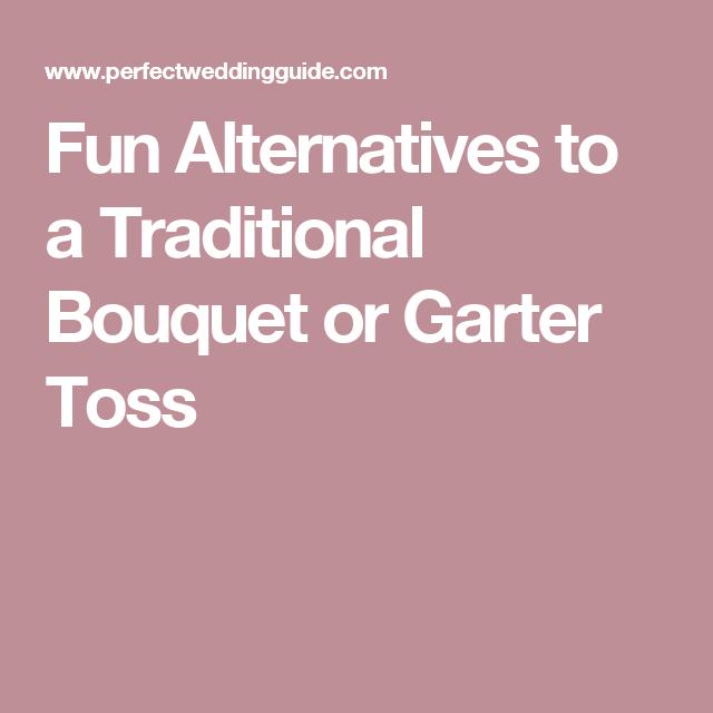 Funny Wedding Garters: Fun Alternatives To A Traditional Bouquet Or Garter Toss