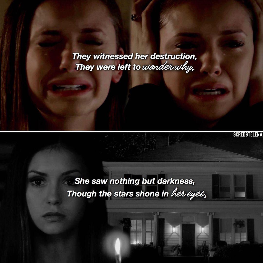Elena Quote Hermanos Salvatore Vampire Diaries Y
