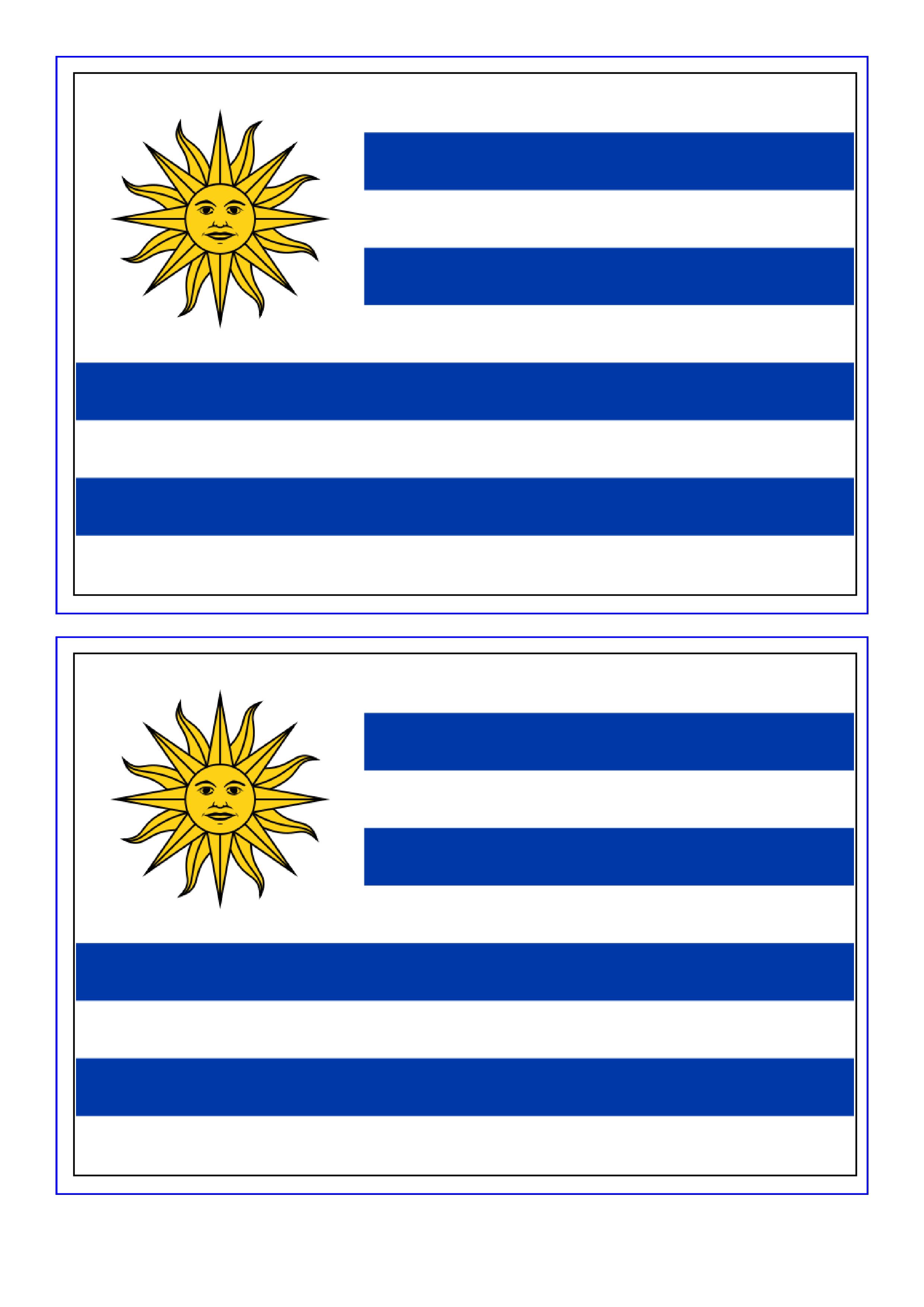 Uruguay Flag Free Printable Uruguay Flag Download Uruguay Flag