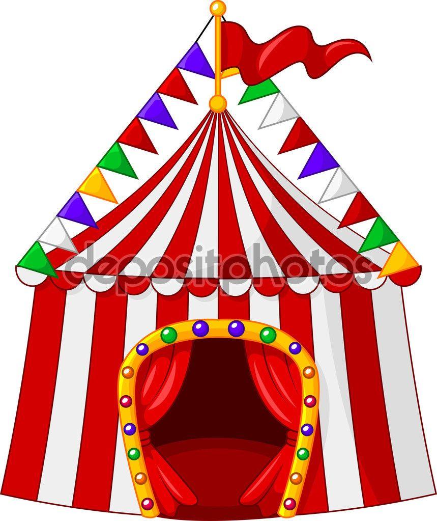 carpa de circo - Buscar con Google | Carpa de circo, Animales de ...