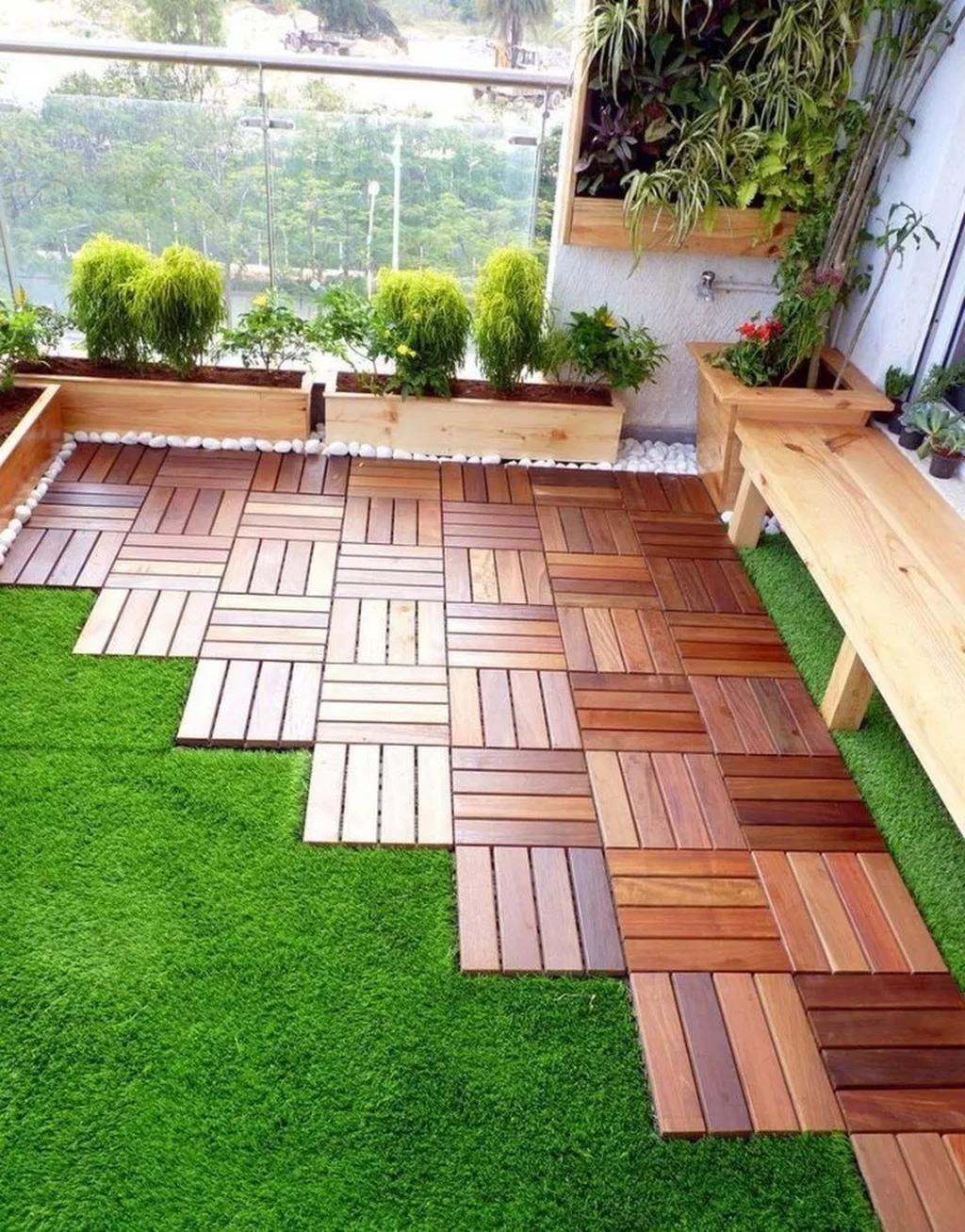 60 Small Apartment Balcony Garden Design Ideas Backyard Landscape Architecture Courtyard Gardens Design Small Courtyard Gardens