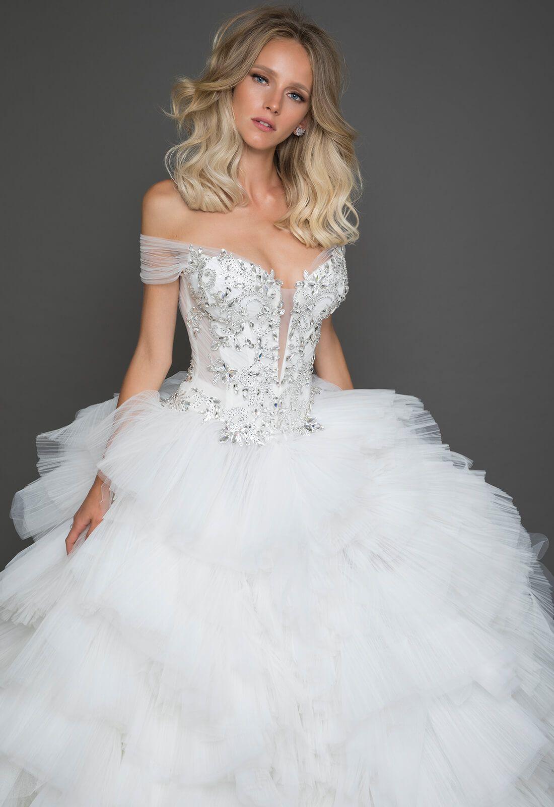 Style no. 4626 | Princess wedding dress | Pinterest | Pnina tornai ...