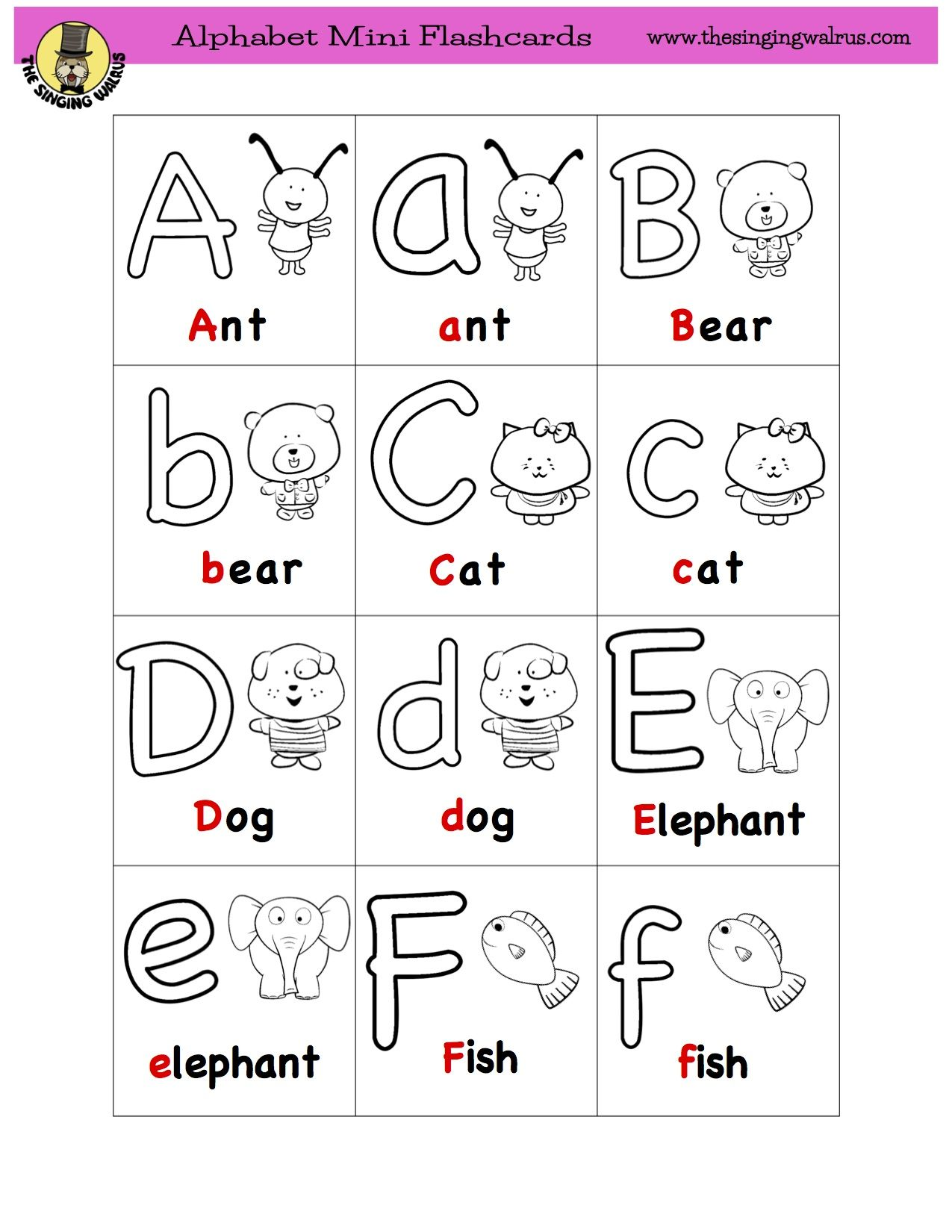 Hi Folks Our Alphabet Flashcards Are Now Available In