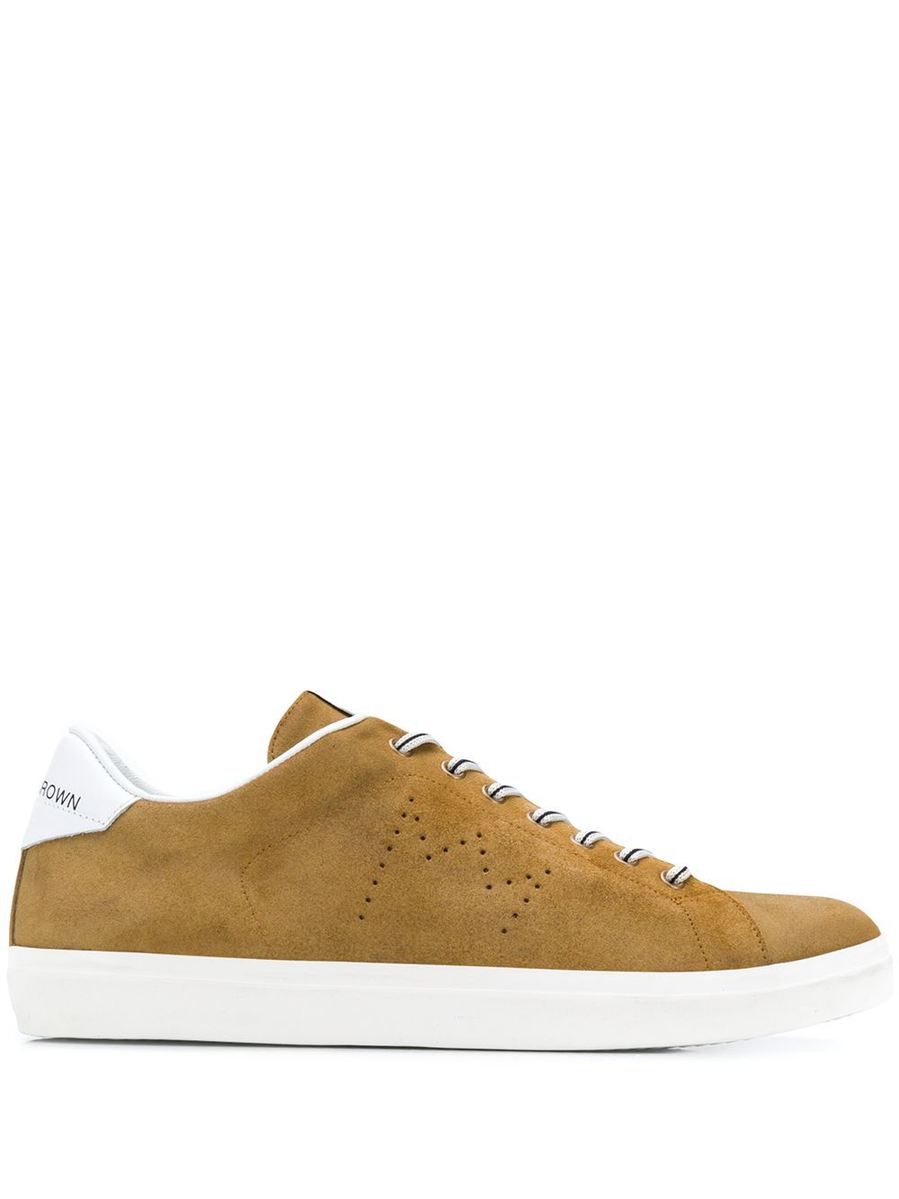 LEATHER CROWN LEATHER CROWN LC06 SNEAKERS BROWN