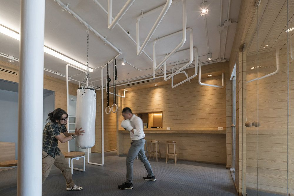 Charmant Inteltion Office Punching Bag