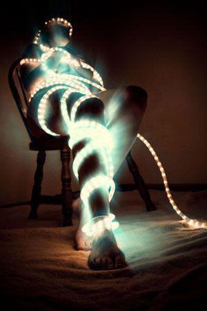 Rope light portrait portrait ideas pinterest rope lighting rope light portrait aloadofball Image collections