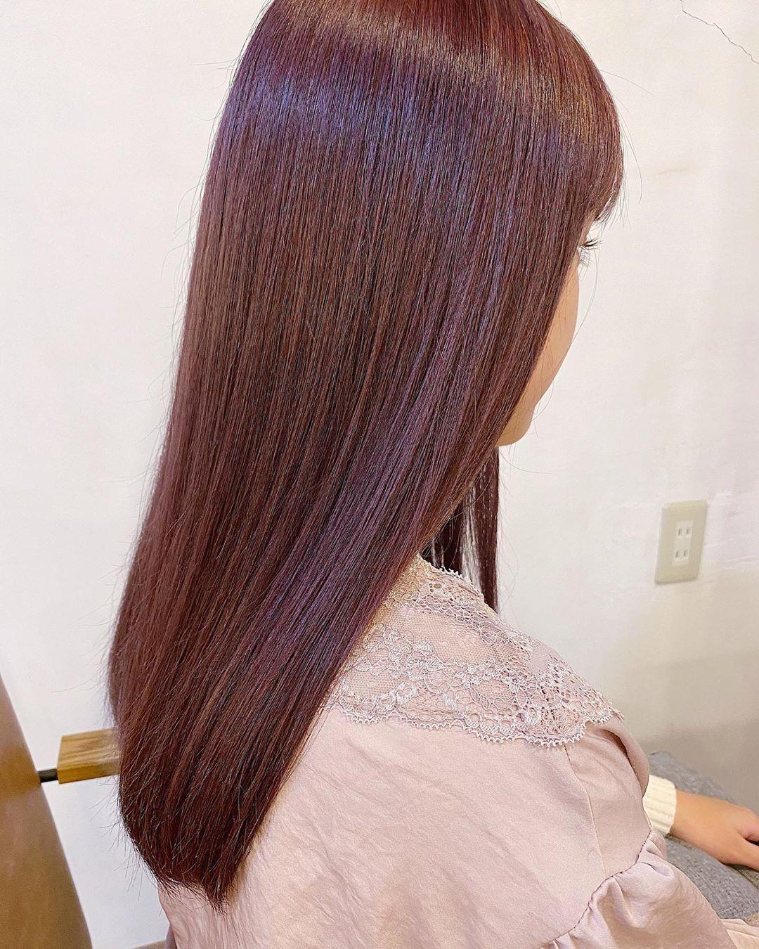 ニシムラカナ ピンクベージュ チェリーピンク On Instagram Hair Color Haircolor ピンクブラウン ダメージが怖い 金髪に抜けるのがやだ そんな方々に
