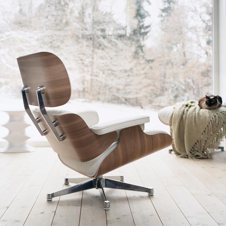 Vitra Eames Lounge Chair Met Ottoman Eames Lounge Ideeen Ligstoel