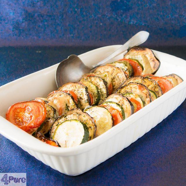Roasted vegetable casserole - Andrea Janssen #mam58