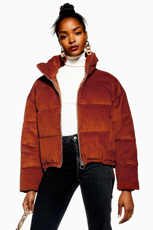 Corduroy Puffer Jacket in 2020 | Jackets, Puffer jackets ...