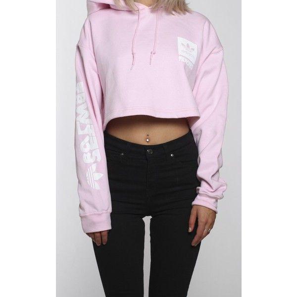 Adidas cropped hoodie, Cropped hoodie