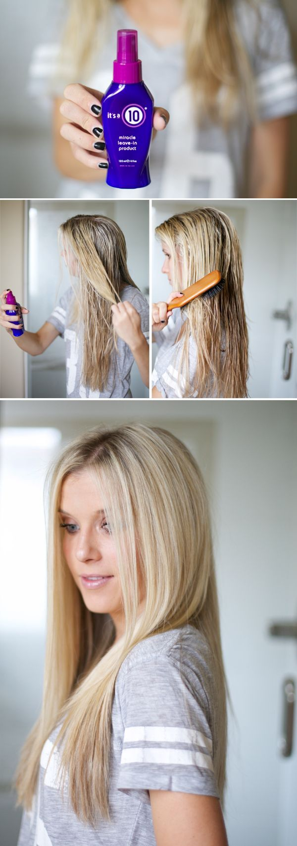 Product Review Itus a Hair Styling Spray Curly frizzy hair