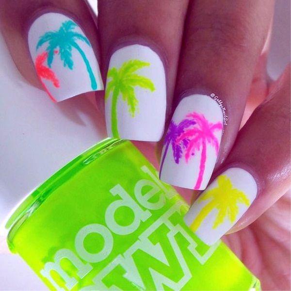 45 Easy Nail Polish Ideas And Designs 2016 | Diseños de uñas, Uñas ...