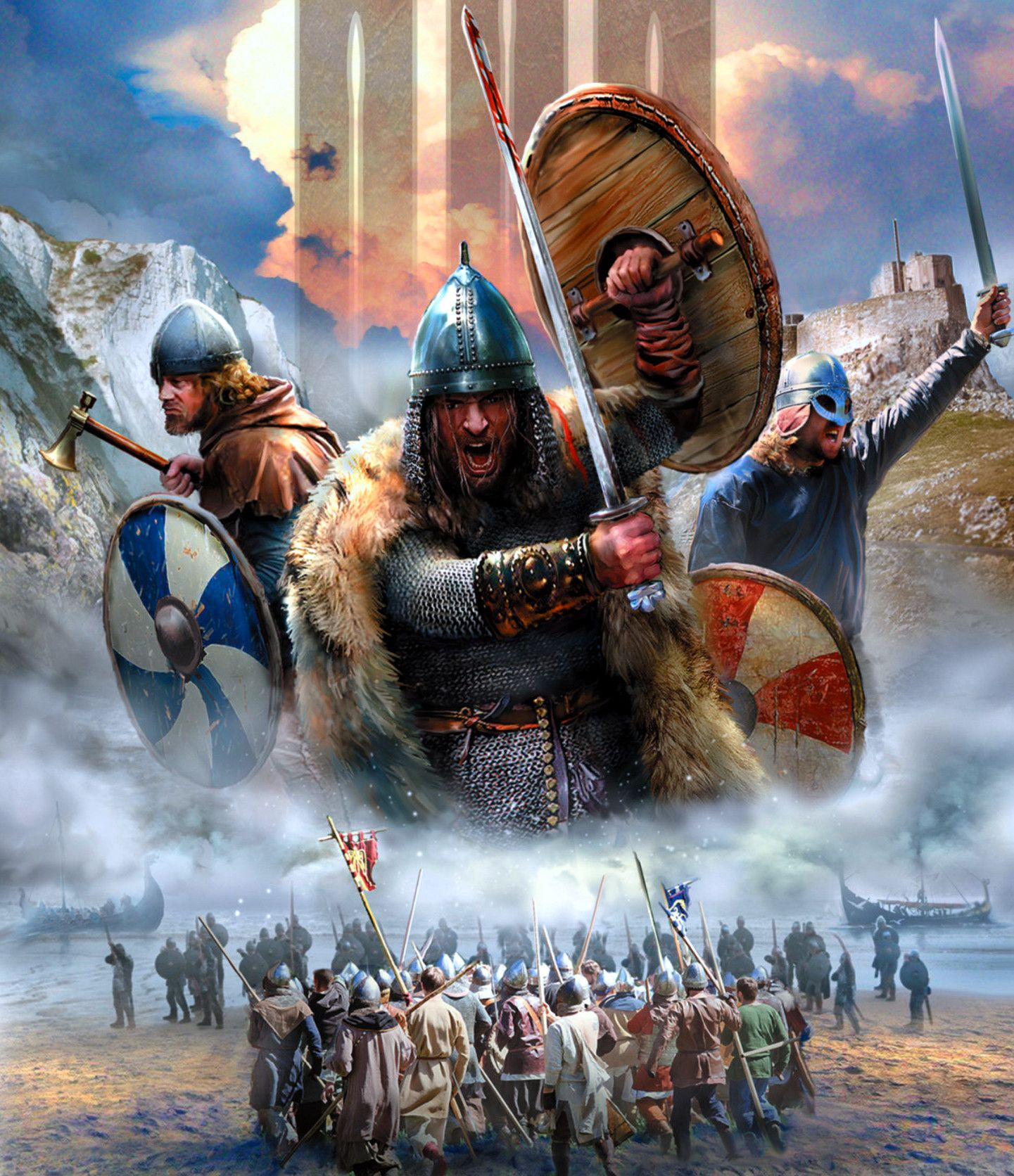 Viking invasion   Vikings, Viking art, Ancient vikings