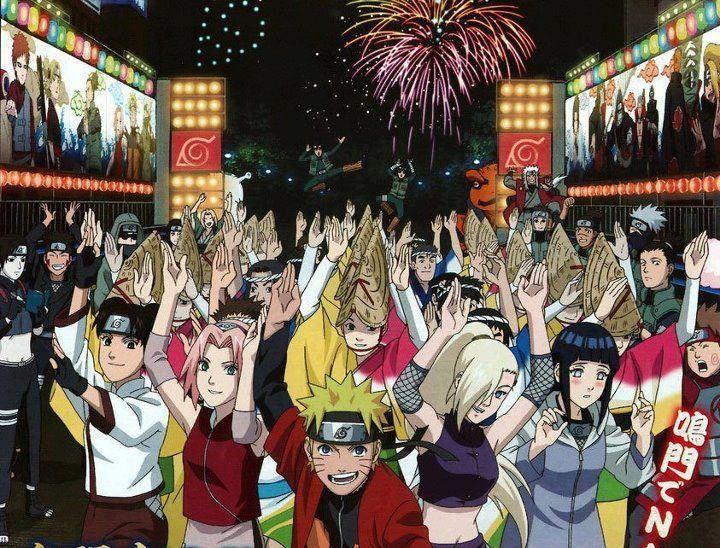 Happy New Years Naruto Naruto Shippuden Naruto Characters