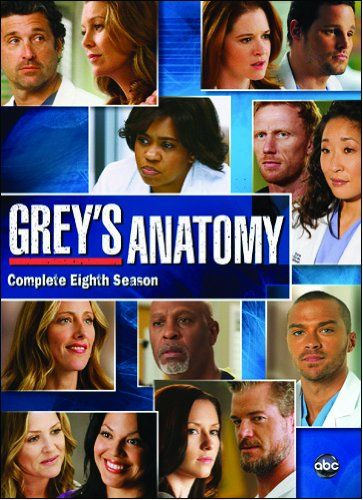 Greys Anatomy The Complete Eighth Season I Cant Wait To Get It I