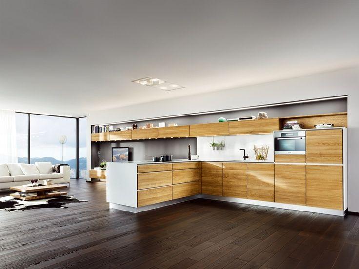 Image result for team 7 oak kitchen Κουζίνες Pinterest