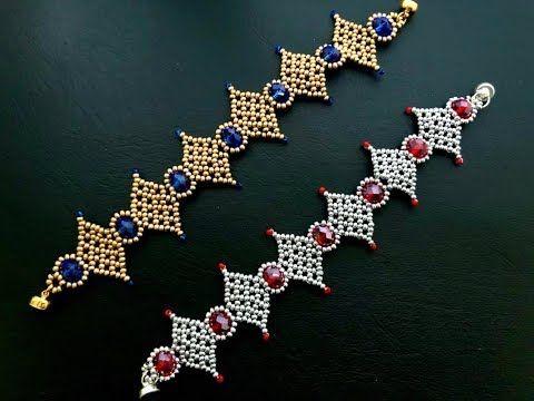 Photo of Diamond Crystal Bracelet    DIY Beaded Bracelet    How to make Beaded Bracelet