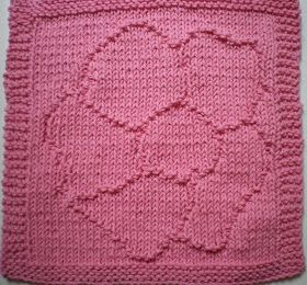 As of April 28, 2013 this pattern has had some errors fixed up.  Hopefully all is now perfect!   Wild Rose Textured Dishcloth   The wild ro...